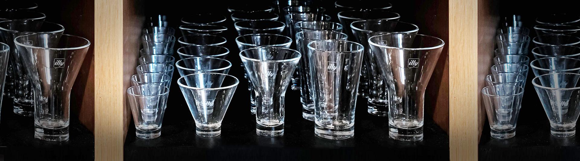 ספלי זכוכית