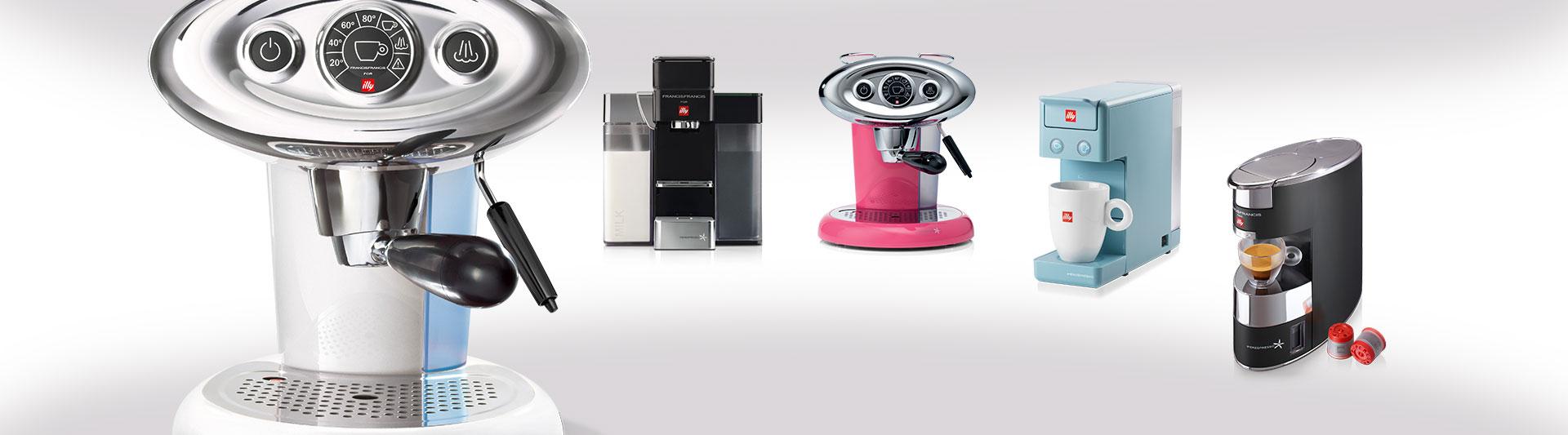 מכונות קפה illy