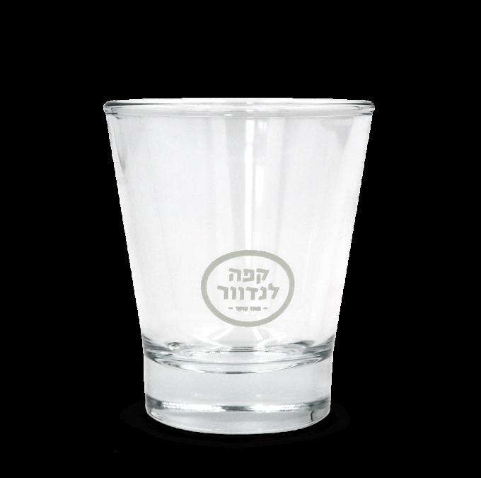 ספל זכוכית - אספרסו - קפה לנדוור 1