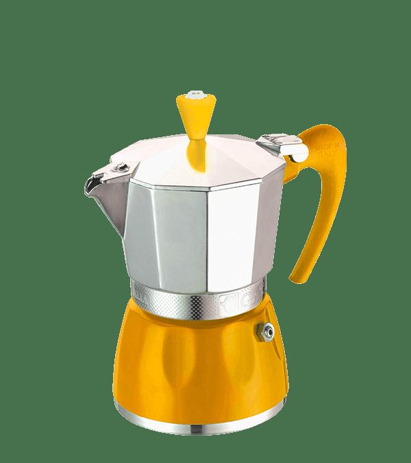 מקינטה 3 כוסות GAT דגם דליצה - צהוב