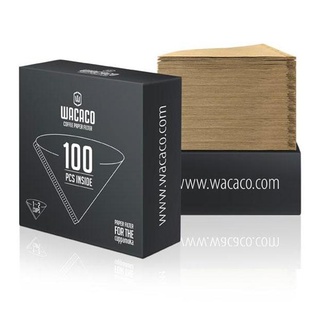 פילטר נייר לקפה - 100 יח' - Wacaco