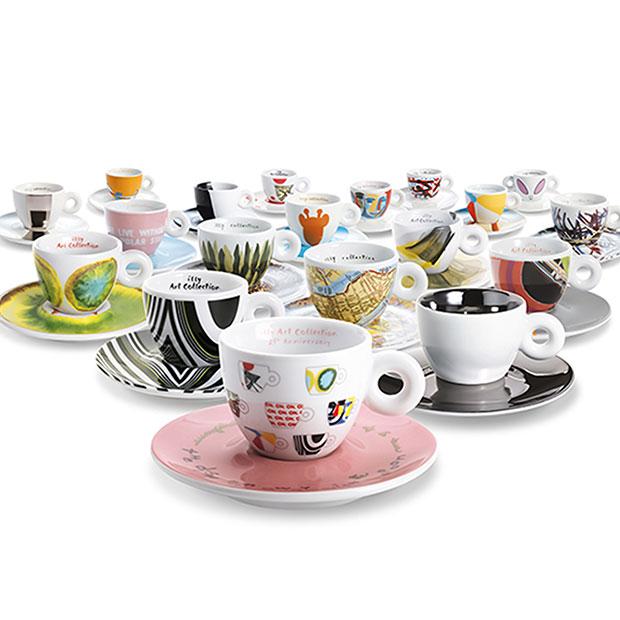 illy art collection קולקציות ספלים מעוצבות - בלעדי באתר ובחנויות הקפה