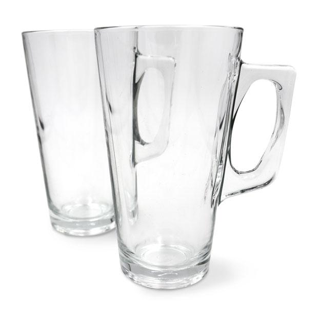 """זוג כוסות זכוכית מאג - 340 מ""""ל - ארקוסטיל דגם וולה"""