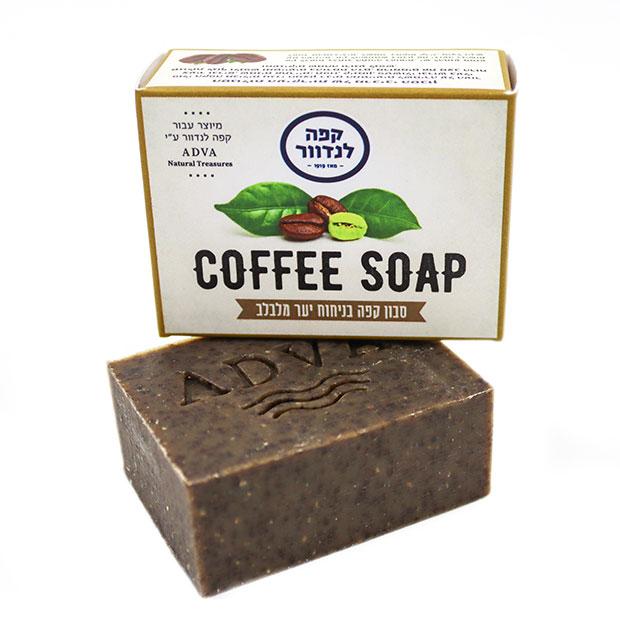 סבון קפה בניחוח יער מלבלב - קפה לנדוור