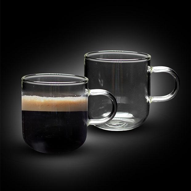 """זוג כוסות זכוכית - בליז - 300 מ""""ל"""