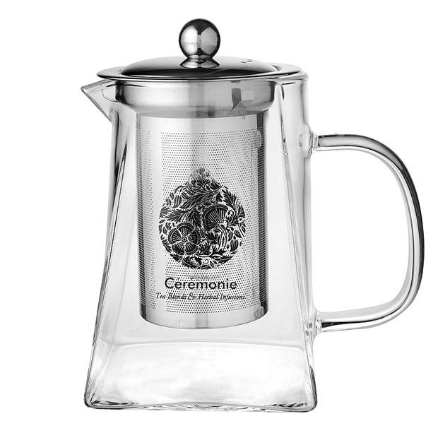 """תה סרמוני - קנקן זכוכית - 750 מ""""ל"""